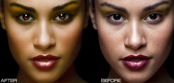 30 Examples Photo Retouching