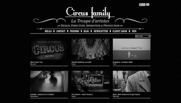 20 outstanding black and white website designs entheos