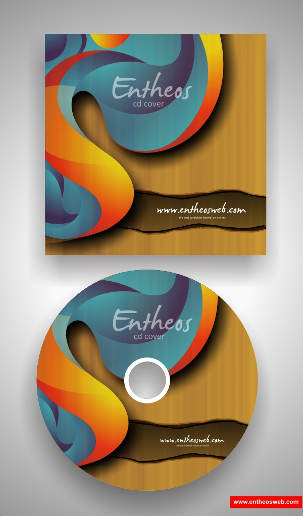 Corel Draw Book Cover Design Tutorial ~ Make your own cd cover with coreldraw tutorial corel draw