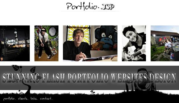 20 Stunning Flash Portfolio Websites Design for Inspiration