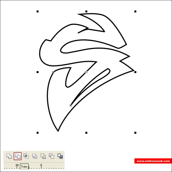 Create Quick Graffiti Text Effects with Coreldraw | EntheosWeb