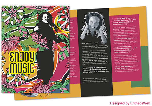 Free Coreldraw Music Brochure Download  Entheos