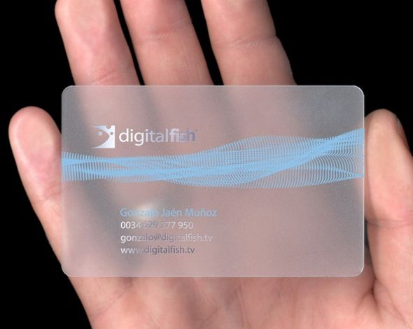 Digital Fish Business Card