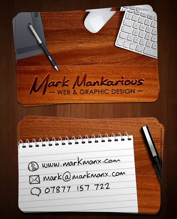 Mark Mankarious Business Card