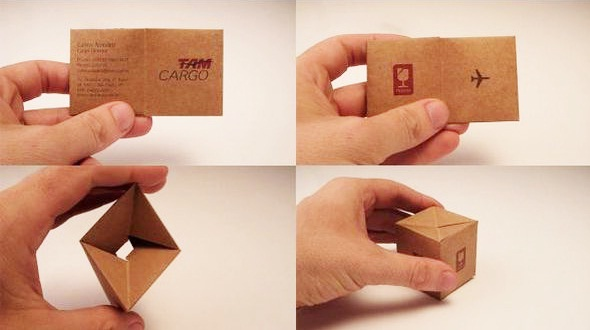 TAM Cargo's Business Card