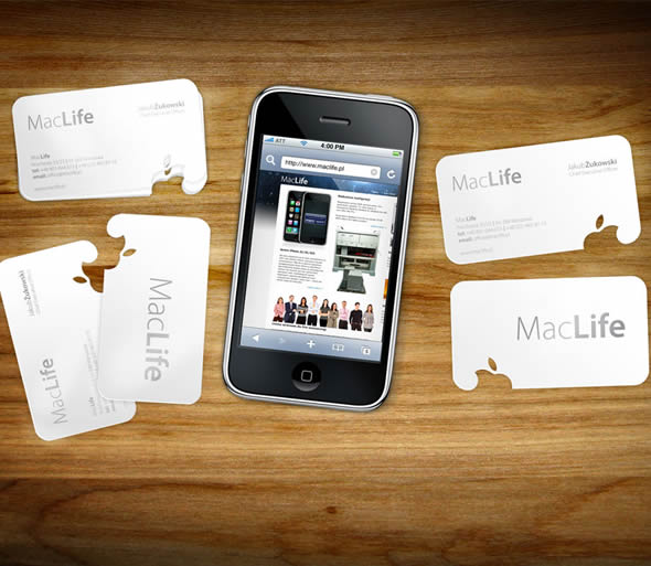 MacLife Business Card