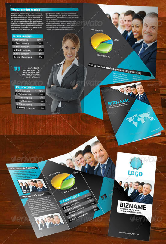 Business Brochure (A4+ 3-Fold)