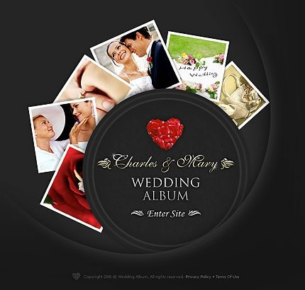 Flash Wedding Website