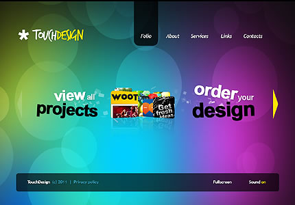 spectacular website design ideas using circles entheos