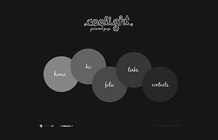 Coolight Personal Flash Website