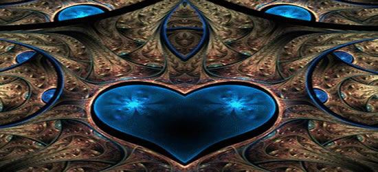 Blue Heart Facebook Cover