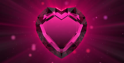 valentine's ruby heart