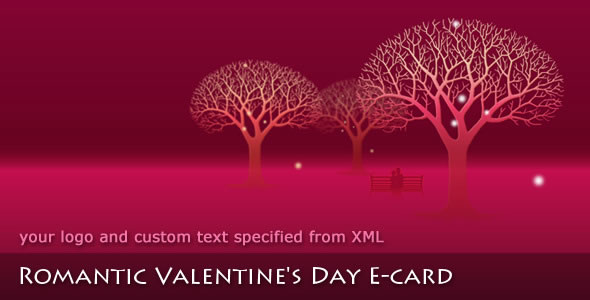 romantic valentines day e card - Electronic Valentines Day Cards