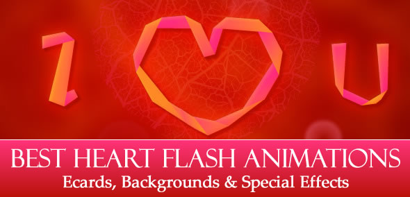 Moving Love Hearts Animated Best heart flash animations