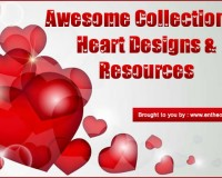 Awesome Collection Of Heart Designs & Resources