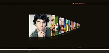 Portfolio Photography Flash Photo Gallery Template