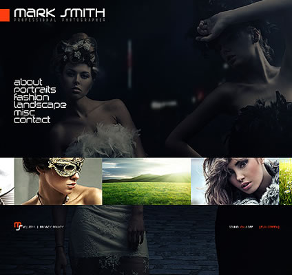 Mark Smith Flash Website