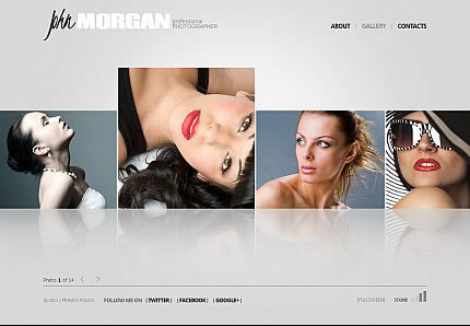 John Morgan Flash CMS Template