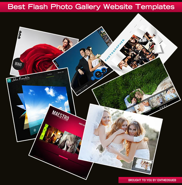 Best Flash Photo Gallery Website Templates | Entheos