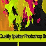 High Quality Splatter Photoshop Brushes