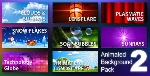 Animated Background Pack 2