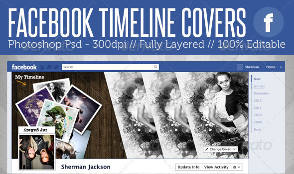 Facebook Timeline Covers - 2