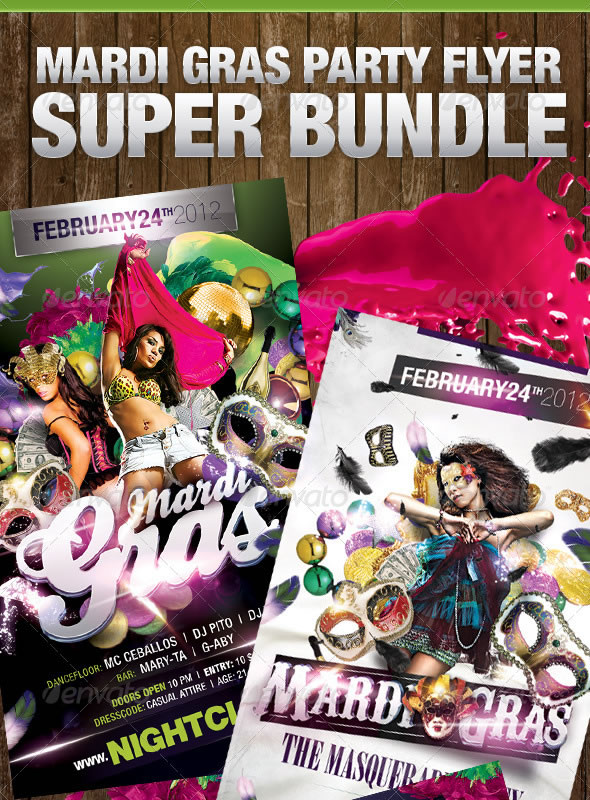 Mardi Gras Super Bundle