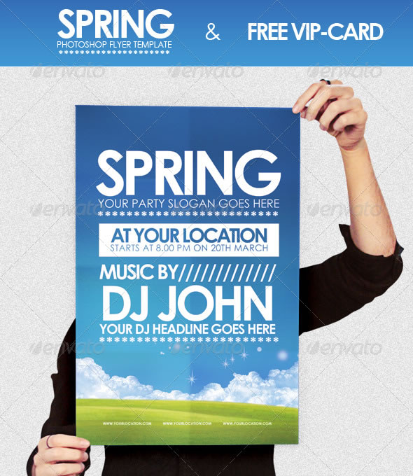 Cool Spring  Summer Break Party Flyers  Entheos