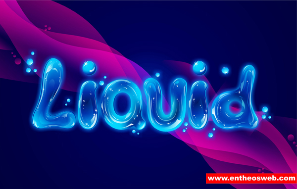 Create Liquid Text Effects with CorelDraw | EntheosWeb