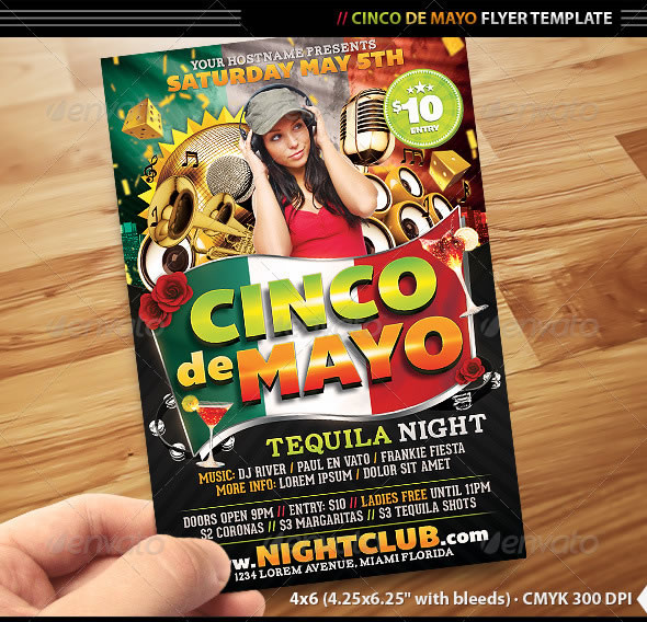 vibrant ladies night club party flyer templates entheos
