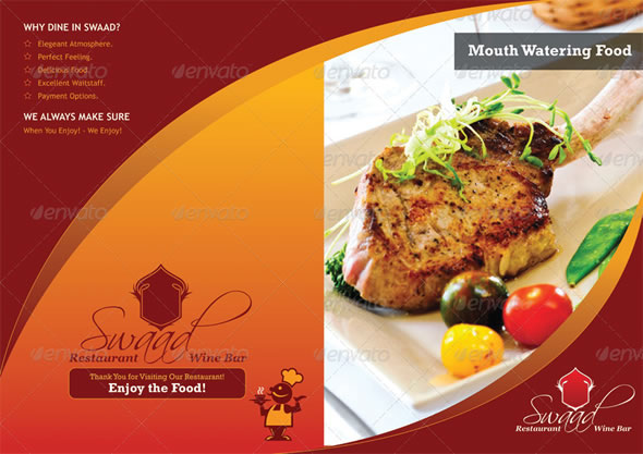 Hervorragend Mouth-Watering Restaurant Menu Designs | Entheos QX52