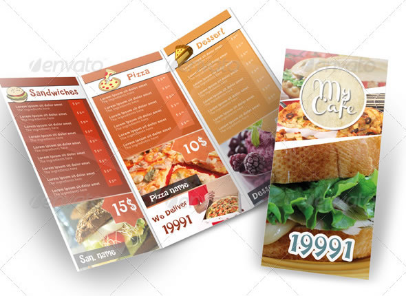 modern restaurant menu - Restaurant Menu Design Ideas