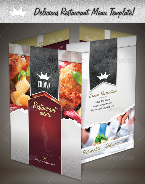 Bekannt Mouth-Watering Restaurant Menu Designs | Entheos VB54