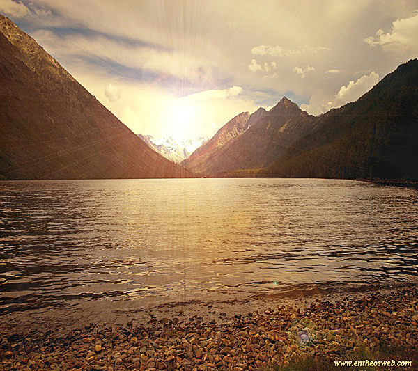 Learn How to Create a Scenic Sun Rise in Photoshop