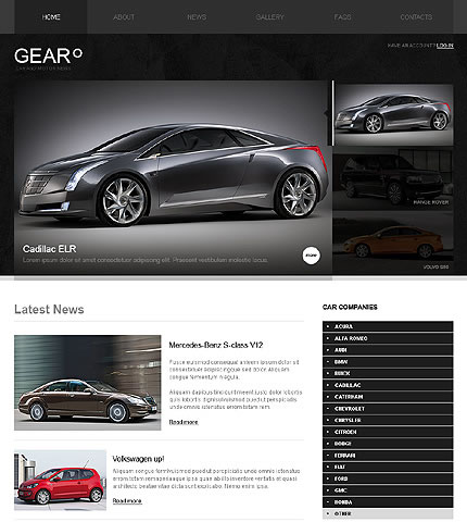 Cars Vehicle WordPress Theme