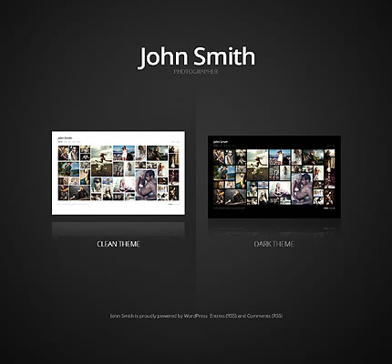 John Smith WordPress Theme