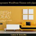 Impressive WordPress Themes with jQuery