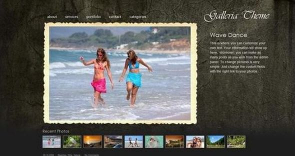PhotoBlog: Galleria ? WordPress Photo Gallery Theme