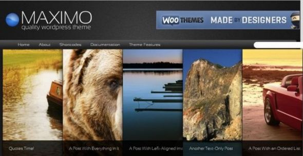 Maximo WordPress Theme