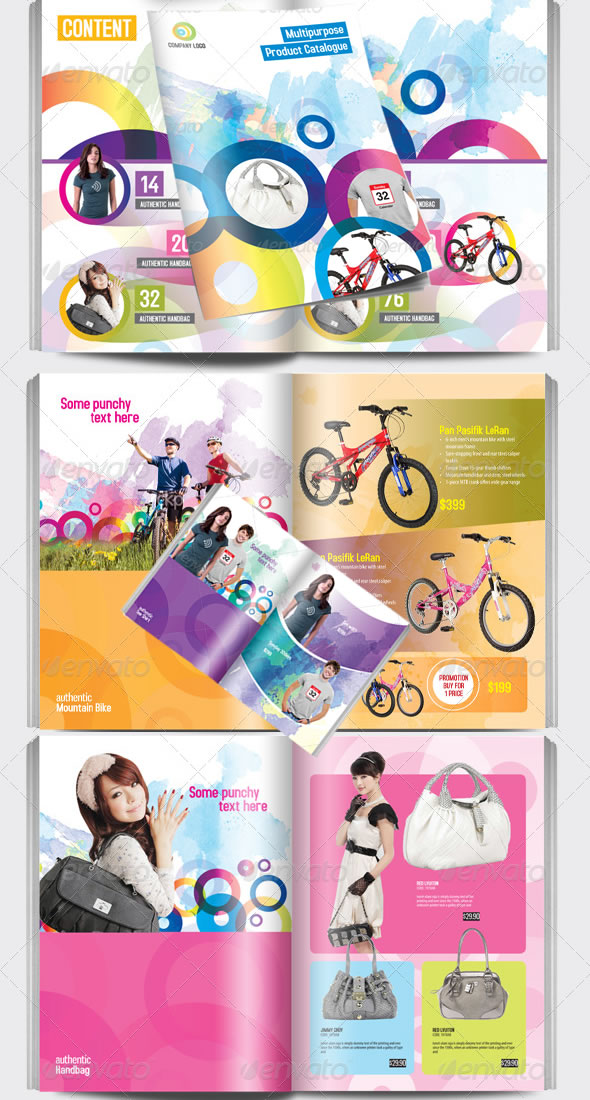 Multipurpose Product Catalogue Indesign Template