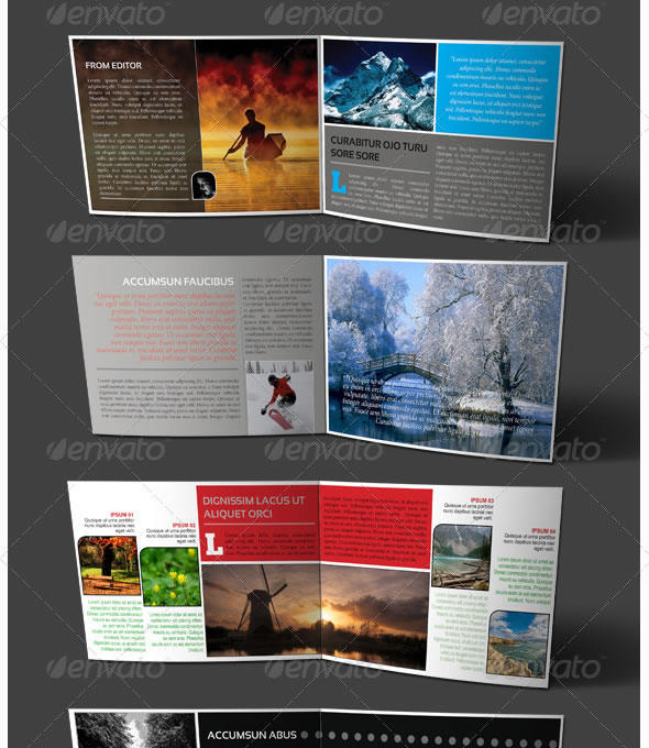 professional catalogue  u0026 booklet design templates