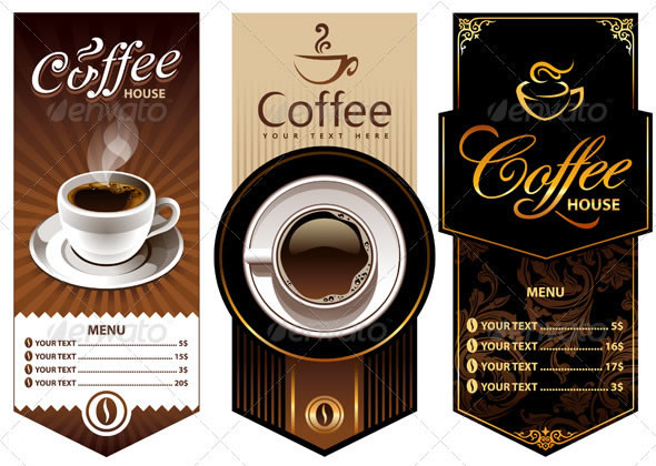 25 delicious coffee design resources entheos for Coffee price list template
