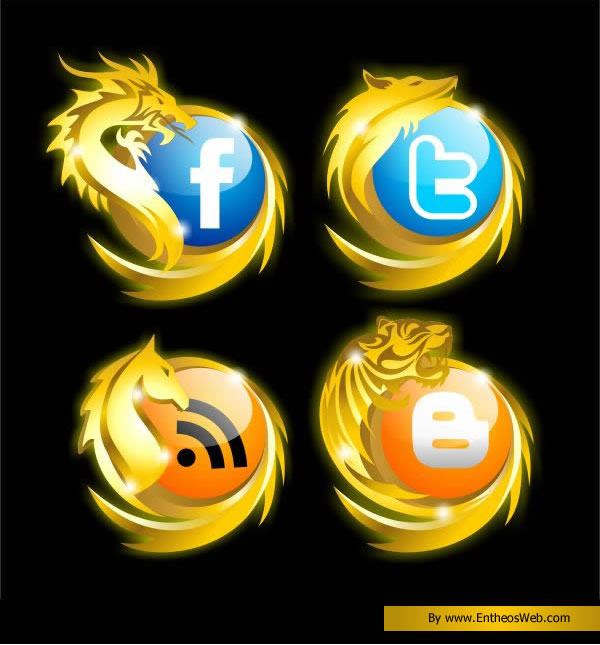Designing Awesome Social Networking Icons with Corel Draw