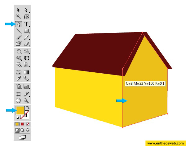 Superior 3D House Vector Screenshot