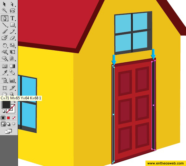 Illustrator Drawing Learn How To Create A 3d House Vector
