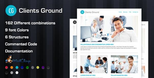 Clients Ground Corporate Flexible Email Theme