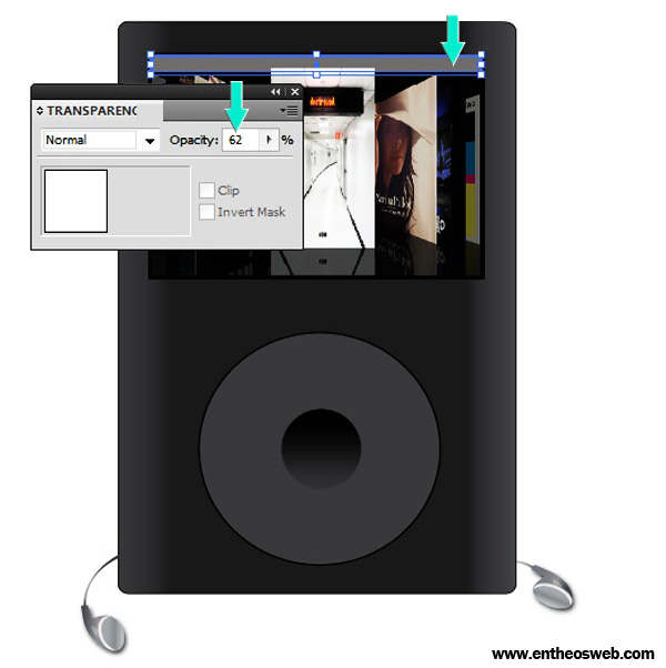 Vector IPod with Ear - Phones Screenshot