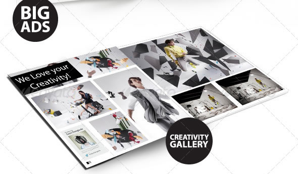 WebMag - InDesign Magazine Template