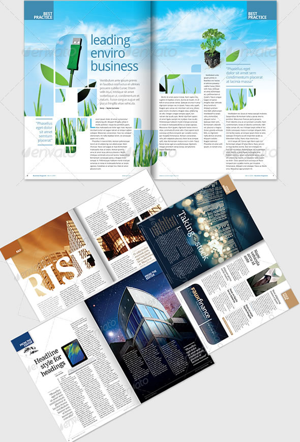 Creative magazine layout design ideas entheos for Designs magazine