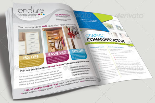 Magazine Advert Template 003